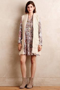 Relaxed Paisley Tunic Dress
