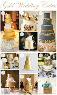 More gold cakes ...
