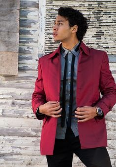 Red Shop, Clothing Co, Blazers For Men, Slim Man, Keep Warm, Blazer Jacket, Suits, Elegant, Fitness