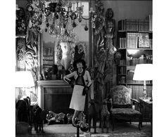 Gabrielle Chanel dans son appartement de la rue Cambon, 1965 par Cecil Beaton
