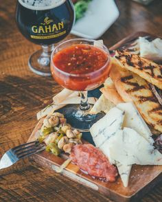 Grab a few friends because we have music from Leith Fleming-Smith tonight! Our Charcuterie and Cheese Board is perfect for sharing ☺️ via Halifax Restaurants, Charcuterie And Cheese Board, Dining, Friends, Music, Food, Dinner, Musica, Amigos