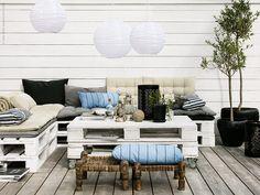 Fixa stilen: Bohemisk sommar lounge