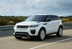 2017 Range Rover Evoque White