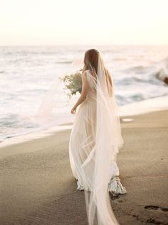 Luminous Malibu Bridal Session. #Wedding #Photography