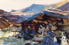 Bedouin Women (1905-06)  John Singer Sargent  Brooklyn Museum  - -