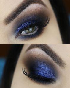 Azulês – sombra holográfica da coleção #FAZOLHÃO da quem disse, berenice? por…