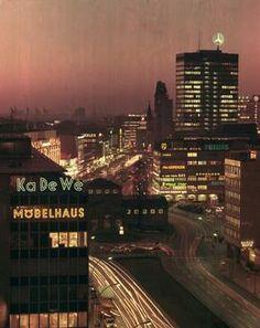Berlin 1970:West-Berlin bei Nacht