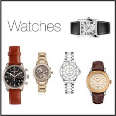 """Watches"" by imajumaican on Polyvore"