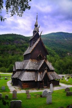 Borgund Stave Church, Lærdal, Norway