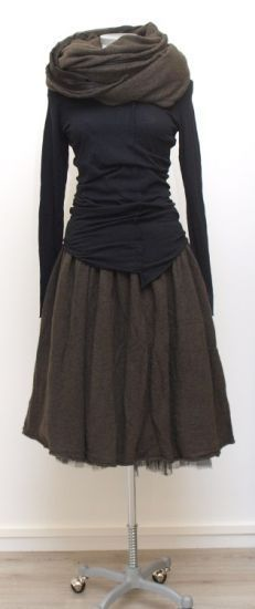 Stylish: skirt and shirt from Rundholz . - Stylish: skirt and shirt from Rundholz Mehr - Looks Style, Style Me, Boho Style, Estilo Hippie, Inspiration Mode, Moda Fashion, Fashion 2015, Vogue Fashion, Fall Fashion