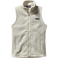 Patagonia Better Sweater Fleece Vest ($60) ❤ liked on Polyvore featuring outerwear, vests, vest, patagonia, fleece lined vest, vest waistcoat, patagonia vest and fleece vest