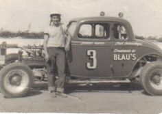 Bridgeport Speedway Johnny Reick: Blau's Auto Body in Kitchener sponsored Number 3 in the 1950s and 1960s and its long time driver Johnny Reick was a wildly-popular figure with the fans at Bridgeport Speedway. Each Saturday night, the roads approaching the speedway were jammed with race fans.