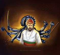 Shivaji Maharaj Painting, Ganpati Bappa Wallpapers, Shivaji Maharaj Hd Wallpaper, Blur Image Background, Warriors Wallpaper, India Map, Minimalist Drawing, Historical Pictures, Love Art