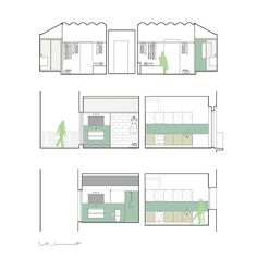 Twin House, 2 apartments in Barcelona - 2013 - Nook Architects - Selected for Arquin FAD Awards 2014