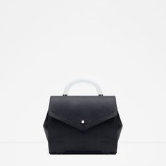Image 1 of BOWLING BAG WITH HANDLE AND STRAP from Zara