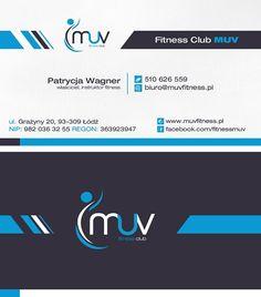 Wizytówka dla klubu fitness MUV #projektgraficzny #graphicdesign #wizytowka #businesscard #fitness #muv #lodz #mgraphics #buskozdroj #nadajemyksztaltypomyslom www.mgraphics.eu