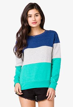 Colorblocked Pullover | FOREVER21 - 2018746674