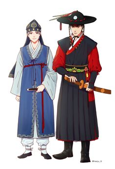 Korean clothes Source by MelancholyD clothes fashion dresses Korean Traditional Dress, Traditional Dresses, Traditional Art, Character Inspiration, Character Design, Korean Outfits, Korean Clothes, Korea Dress, Korean Painting