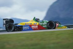 """Maciek 39 Poland """"Racing, competing, it's in my blood. Gerhard Berger, Brazilian Grand Prix, Formula 1 Car, F1 Drivers, Car Images, Indy Cars, F1 Racing, Benetton, Fun To Be One"""