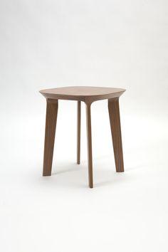 Fawn End Table Walnut