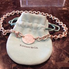Beautiful Tiffany necklace Authentic, Lightly worn, sterling silver... Tiffany & Co. Jewelry Necklaces