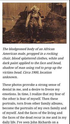 American Terrorism… Lynching Postcards