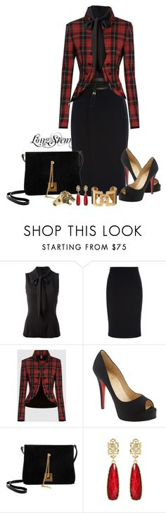 """""""Untitled #322"""" by longstem ❤ liked on Polyvore featuring Dolce&Gabbana, Dondup, Christian Louboutin, Giuseppe Zanotti, Amrita Singh, Reclaimed Vintage and Dsquared2"""