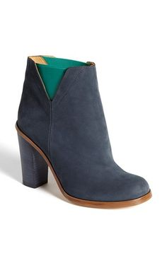 navy boots with a twist mm6 maison martin margiela bootie nordstrom