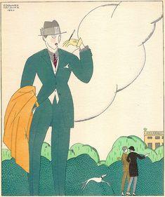 Edouard Halouze, Les Feuillets d'Art, 1919 by Gatochy, via Flickr