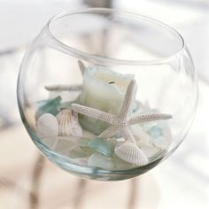 8. Arrange Beach Finds - 20 Easy Summer Upgrades for Outdoor Spaces - Coastal Living