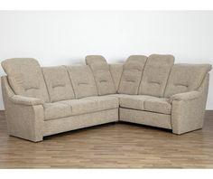 Rohová sedací souprava Gilbert 3FL-ER-2BKR, hnědo-béžová látka Couch, Furniture, Home Decor, Settee, Decoration Home, Sofa, Room Decor, Home Furnishings, Sofas