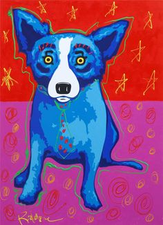 George Rodrigue... Blue Dog