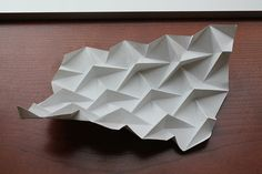 Ron Resch Triangular Waterbomb Tessellation | by oschene