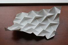 Ron Resch Triangular Waterbomb Tessellation | by oschene