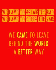 Salvation Song - The Avett Brothers