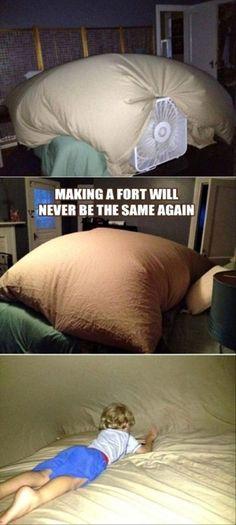 Fan Fort = SO FUN!