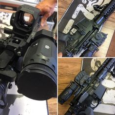 "Di Optical EG1C with 3X Di Optical on T73 carbine 12,5"" #tactical73 #t73custom #team73 #ar15porn #dioptical (presso TACTICAL 73)"