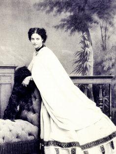 The beautiful Princess Dagmar of Denmark (later Maria Feodorovna , wife of Tsar Alexander III of Russia)