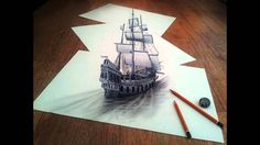 Best 3D Pencil Drawings