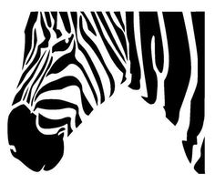 zebra stencil 2 craft,fabric,glass,furniture,wall art in Crafts, Multi-Purpose Craft Supplies, Stencils & Templates | eBay