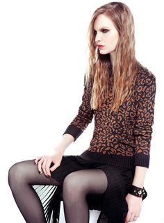BASEMENT Sweaters Animal Pattern Style Feminin, Cool Sweaters, Basement, Pattern, Animals, Slip On, Hipster Stuff, Root Cellar, Animales
