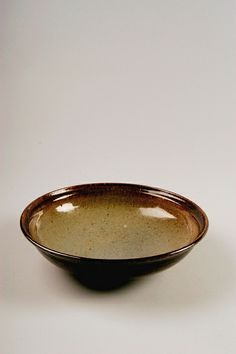 Nan & James McKinnell | Untitled bowl, 1970-90; purchased in Deerfield, Massachusetts.; stoneware; Gift of American Ceramic Society Collection