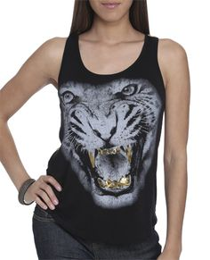 Mean Tiger Lace Tank $16.90