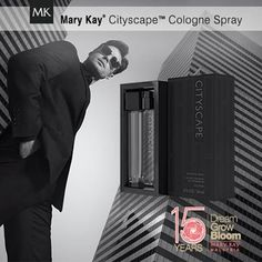 Order this wonderful gift for that special man in your like at www.marykay.com/afranks830 or email me at afranks830@marykay.com #MaryKay #Cityscape for Men