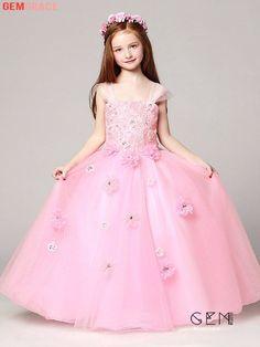 Pretty Dresses For Kids, Cute Little Girl Dresses, Dresses Kids Girl, Junior Bride Dresses, Pageant Dresses, Quinceanera Dresses, Party Dresses, Wedding Dresses, Girls Dresses Online