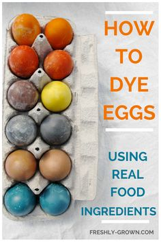 Have you ever tried dyeing eggs with fruits, veggies, spices or even wine? They produce gorgeous results. The best part: It is easier than you think, safe, and kids have a lot of fun turning ingred...