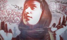 Malina Suliman: Street Art in Afghanistan: Grafito Afeganistão  الكتابة على الجدران أفغانستان - Shamsia Hassani & Malina Suliman