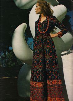 Manuela  Elegance Magazine, Paris - 1971/72  Photographed by Jean-Jacques Bugat