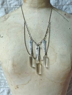 The Three Graces Necklace III by RecklessDaughterShop on Etsy