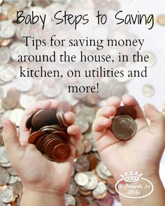 Save Money Tips ~Cut Back your Budget Dozens of ways to save money around the house, in the kitchen, in the community and more! Money saving tips, saving money, Ways To Save Money, Money Tips, Money Saving Tips, How To Make Money, Money Hacks, Cash Money, Time Saving, Budgeting Finances, Budgeting Tips